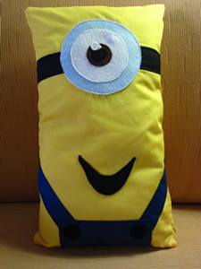 minion pillow-long