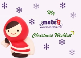 My modes4u.com Christmas Wishlist